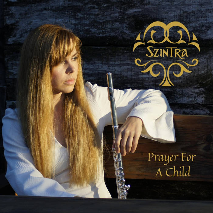 The cover for Szintra's first single Prayer for a Child